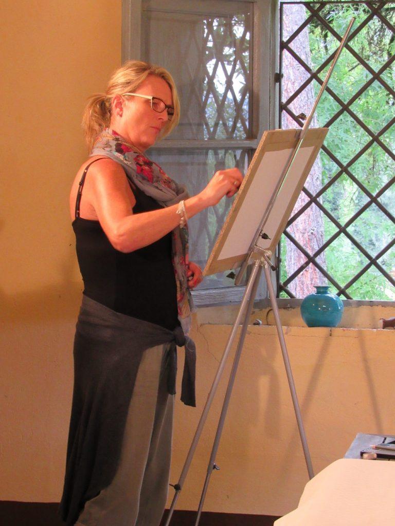 Arts Holidays Italy painting